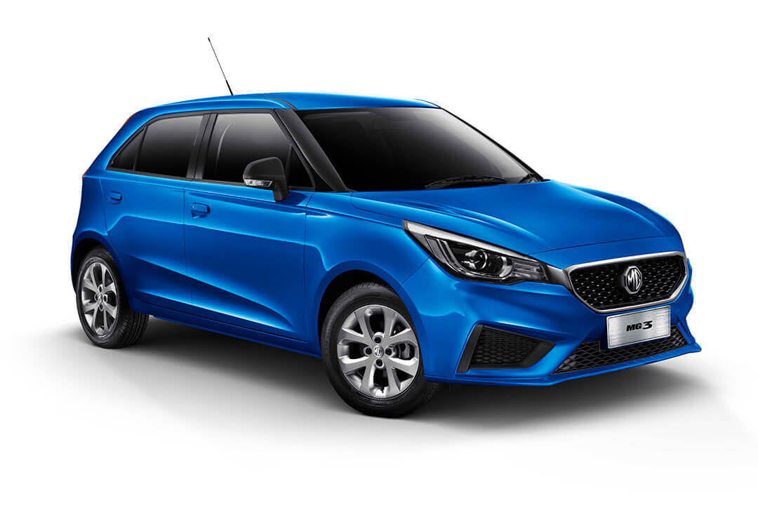 MG 3 Core render finished in blue