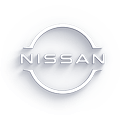Nissan NEXT logo with drop shadow effect