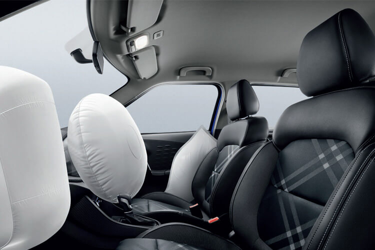 MG 3 Auto airbags render